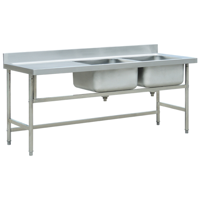 Wholesale Commercial Stainless Steel Kitchen Sink Restaurant Used Kitchen Sink Wash Sink For Sale Bn S48 View Commercial Used Kitchen Sink Cosbao Product Details From Foshan Nanhai Xiaotang Baonan Kitchen Equipment Factory On