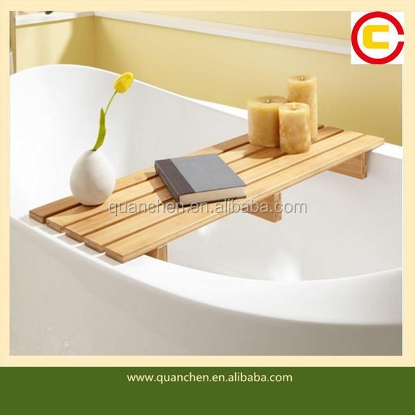 Bamboo Bathtub Rack, Bamboo Bathtub Rack Suppliers and Manufacturers ...