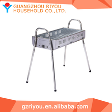 china supplier outdoor assemble stainless steel bbq grill machine