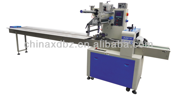 JY-420F Automatic Solid Flow Wrapping Machine with sealing function