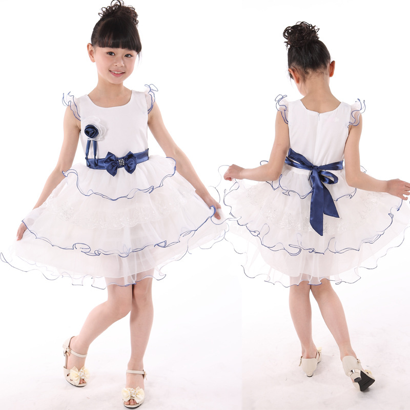 5 3 6 /& 8 ~ NEW ~ Tulle ruffle ~ MBC 4 Girls PARTY DRESS Size 1 2