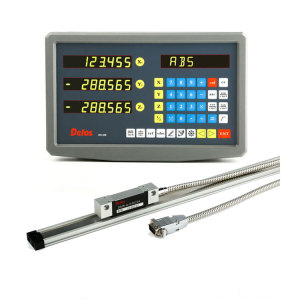 high precision 3 axis digital readout meter with magnetic scale for machine