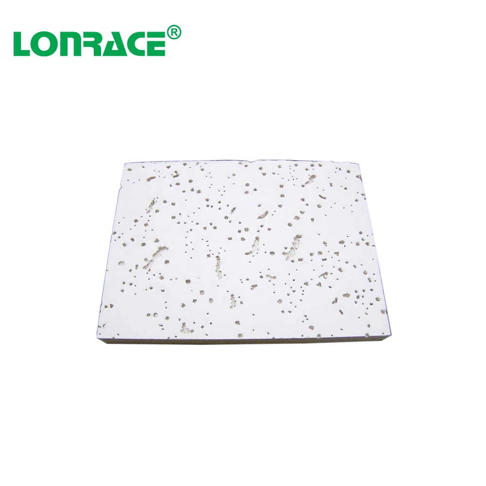 building material/ Gypsum tiles/ mineral ceiling tiles 600x600mm