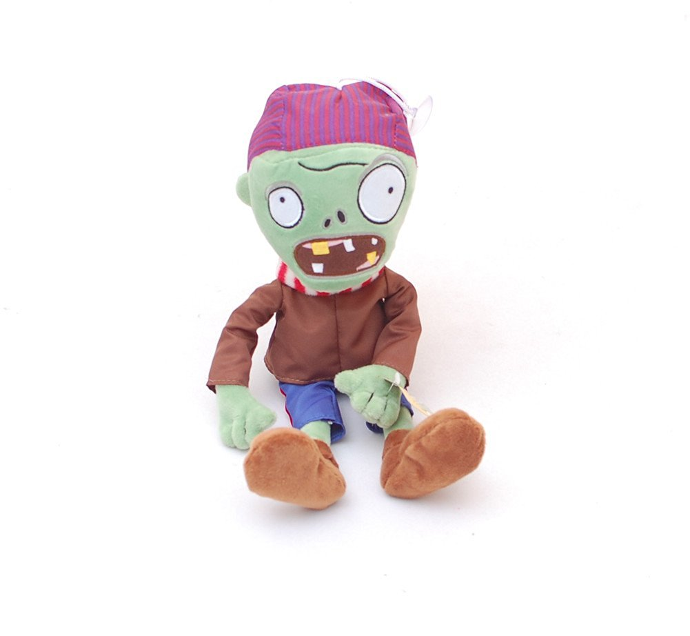 "Judy Dre am New Plants vs. Zombies Plush Toys Green Pirates Zombie Small Size 9.8"" Children's Gift Toys"