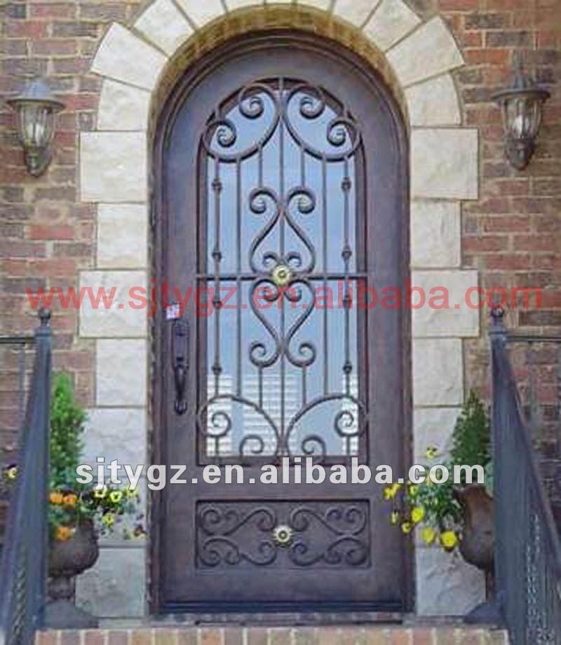Nuevo espect culo principal maquetas de puerta de hierro - Puertas de metal para casas ...