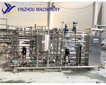 UHT Tube Sterilizer & Fruit Juice Sterilization Machine
