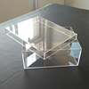 Hot Selling Clear Acrylic Sneaker Shoe Display Box Perspex Shoe Display Case