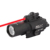 SPINA OPTICS X400 Ultra LED Weapon Light With Red Laser Sight For Hunting