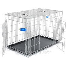 Flexible stainless welded wire mesh large dog cages