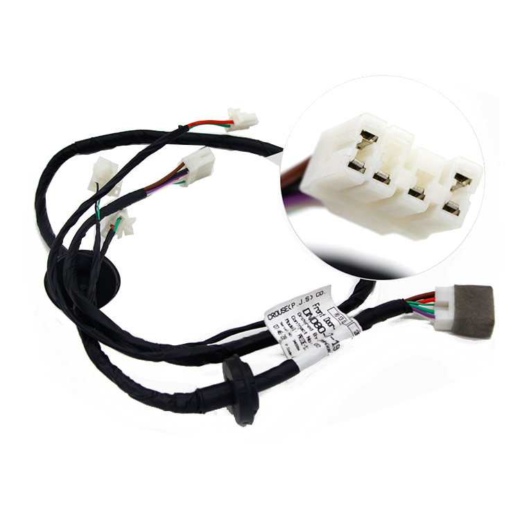 RCD Waterproof Cable Customized Car Stereo Alarm Wiring Harness