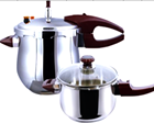 Commercial stainless steel 4-9Litre Induction Bottom Pressure Cooker
