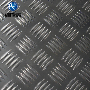 Bright Surface Diamond Embossed Stamped Aluminum Roofing Sheet