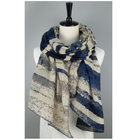Stripe [ Scarf Ombre ] Quality Scarf 100%Polyester Thin Chiffon Stripe Scarf 6 Colors Available Ombre Scarf For Adult