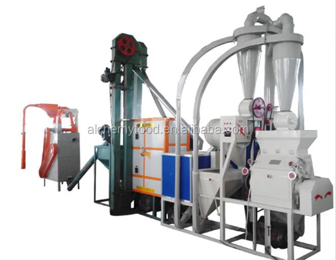 agriculture 10 ton per day grain corn wheat flour milling machine price