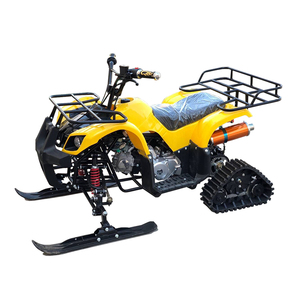 Fully Automatic 125cc Snowmobile Snow Shovel ATV with ATV Snow Track