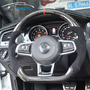 For Volkswagen MK7 GTI Carbon Fiber steering Wheel For VW Golf 7 DSG