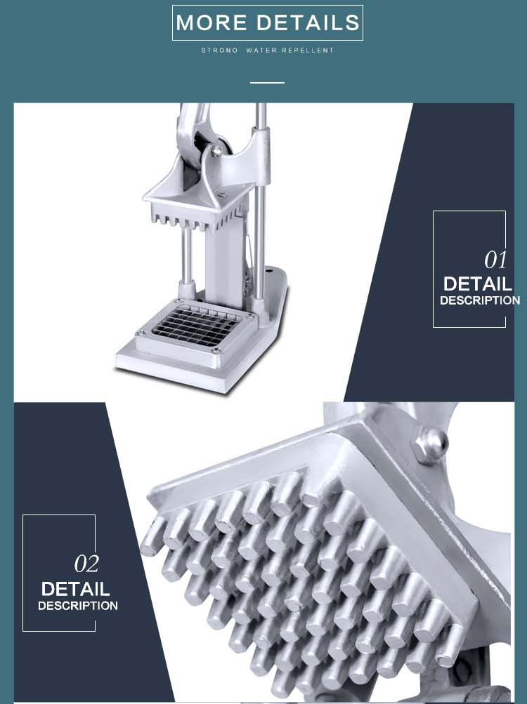 Prices for Desktop Stainless steel Commercial Industrial Electric Potato Chipper and Vegetable fruit Cutter slicer