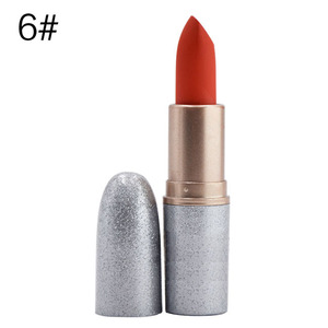Lead Free Flat Tube Color Changing Matte Lipstick Long Lasting