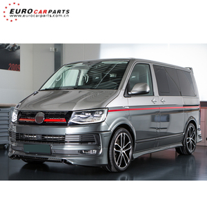 T6 ABT body kits fit for VW T6 2015y body kits for T6 ABT style front  lip+diffuser+spoiler PP material