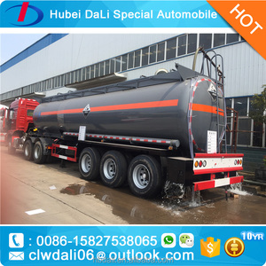 20000liters muriatic acid tank semitrailer for chemicals transportation