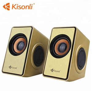 Good Sound Pa Active USB SD Wireless Plastic Stereo Speakers Outdoor Stage Sound System Speaker