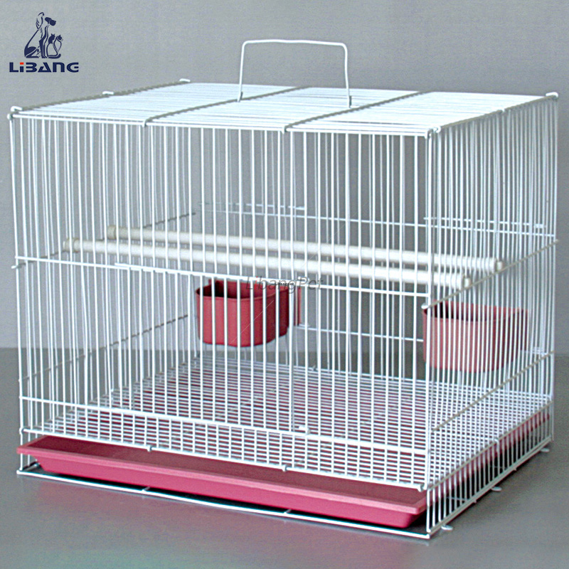 New Design Beautiful Folding Wire Bird Breeding Cage