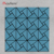 Modern Kitchen Blue Brush Glass Mosaic Tile for Bathroom Interior Home Decoration Metal Mosaics tile Building Materials RM201626