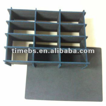 Corrugated Plastic Storage Box Divider With 10 Compartments Buy