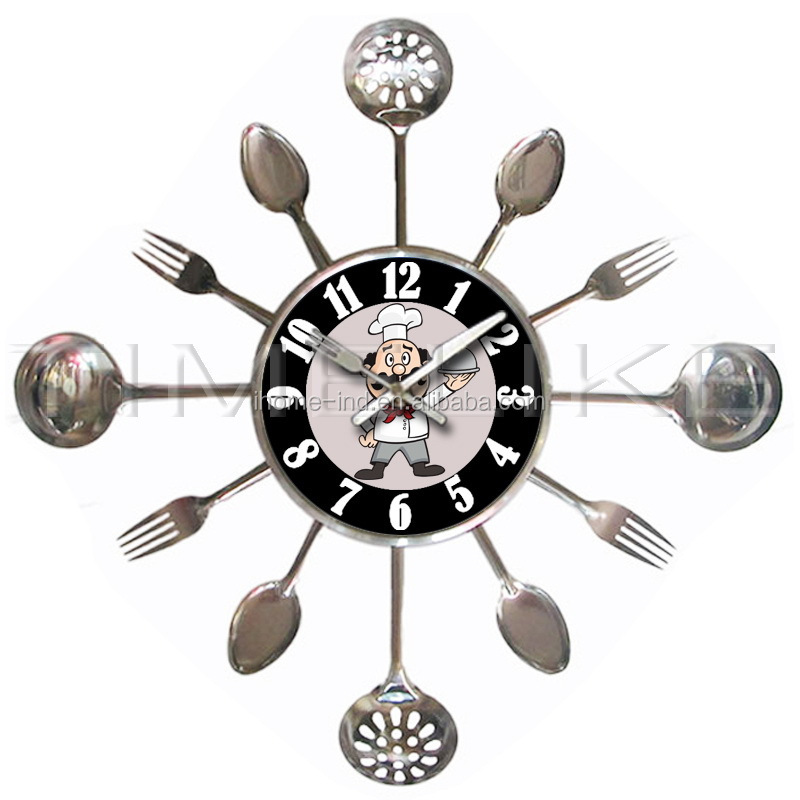 Promotional Wall Clocks Kitchen Clock With Knife And Fork - Buy Promotional  Wall Clocks,Kitchen Clock,Kitchen Clock With Knife And Fork Product on ...