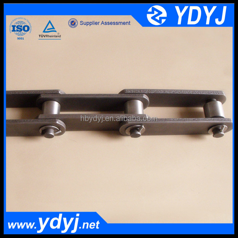 Alloy steel customized Pitch elevator Chain with large Roller