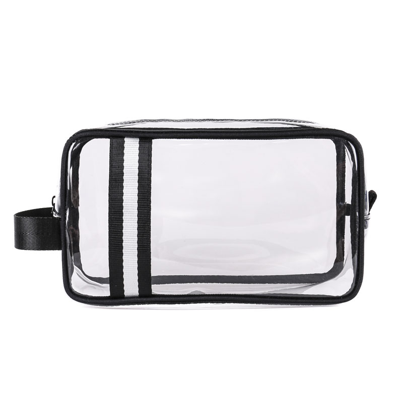c1fd787f1345 Crystal Clear Cosmetic Bag Tsa Air Travel Toiletry Bag Set With Zipper  Vinyl Pvc Make-up Pouch Handle Straps For Women Men - Buy Waterproof  Packing ...