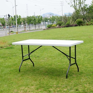 6 Feet Plastic Long table