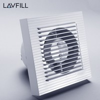 Axial Extractor Fan Hvac Kitchen Wall Mount Ducted Exhaust Fan