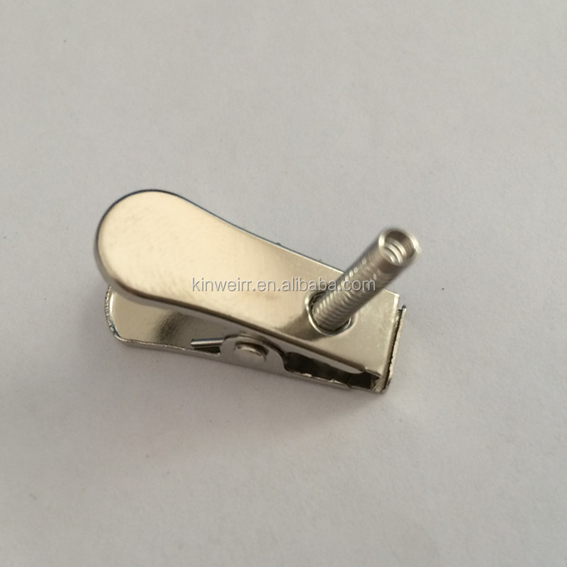 Fashion High Quality Metal Card Clip With Spring For Wholesale