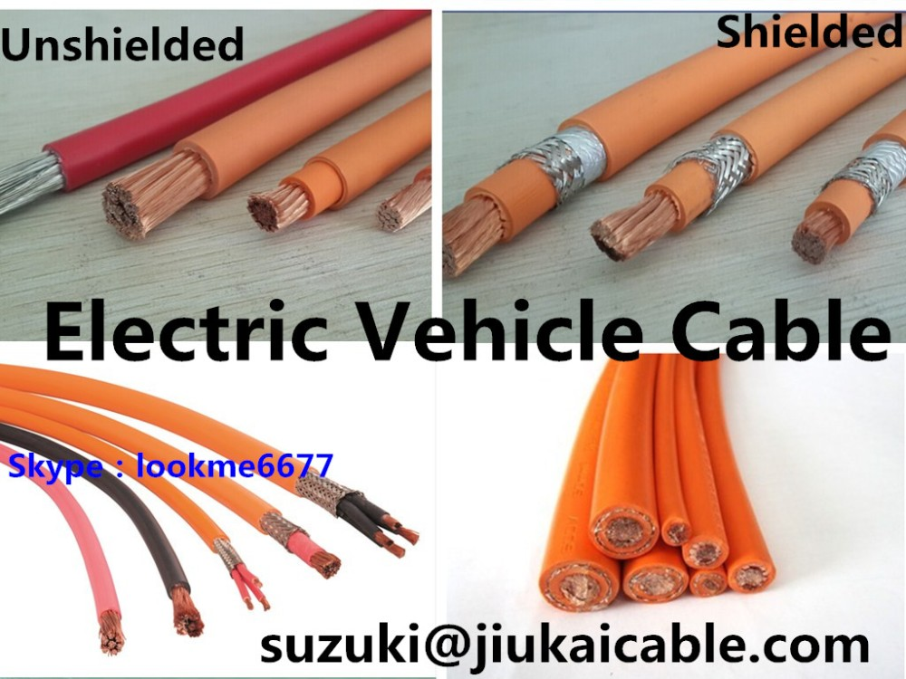 Electric & Hybrid Vehicle Shielded Automotive Battery Cable - Buy ...