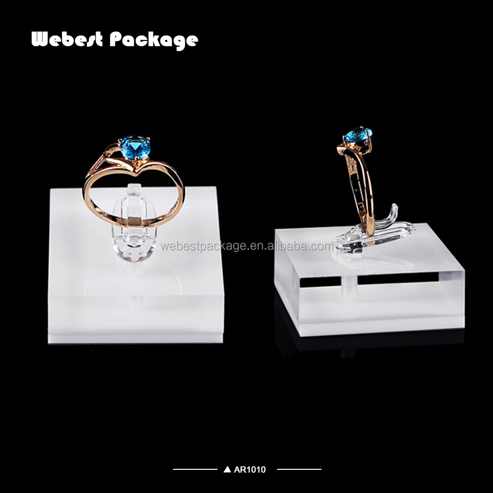 Webest luxury handmade shining acrylic holder display earring display acrylic in guangzhou