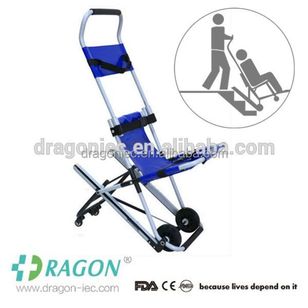 DW-ST004 Emergency multi-function manufecturer direct sale stairway stretcher, chair stretcher