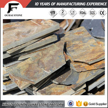 Competitive price for clients random rusty thin flagstone slate