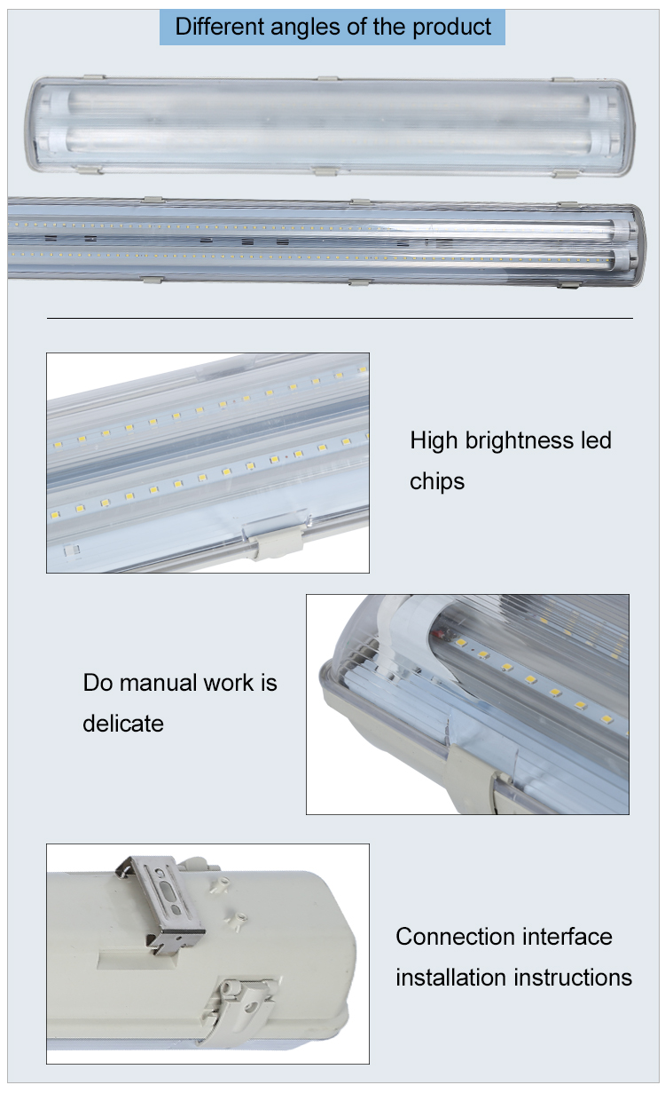 High quality industrial SMD 2835 9 18 24 36 58 150W led linear high bay light