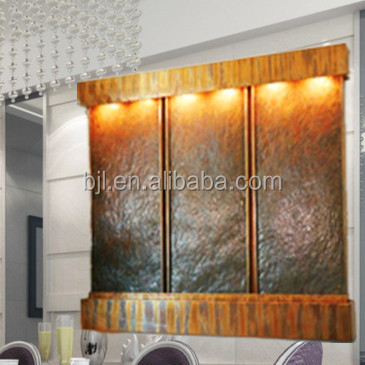 home / banquet hall/office water wall hanging decoration