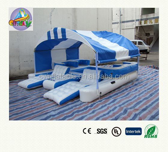 inflatable lounge furniture. inflatable island floating lounge with canopyinflatable chair water furniture g