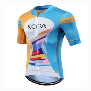Wholesale custom clothing oem wear funny sublimation printing used uniforms blank manufacturer specialized italy cycling jersey