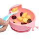BPA Free Lovely Baby Bowl, Baby Warmer Bowl with Silicone Suction Base