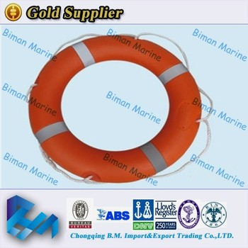 Water Safety Products Solas PVC Life Ring Buoy For Sale