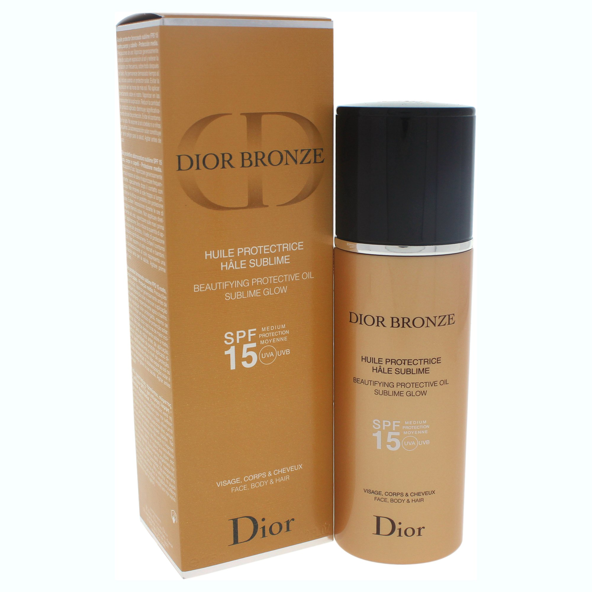782f550f Buy Dior Bronze Beautifying Protective Oil Sublime Glow Spf15 Body ...