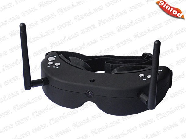 SkyZone SKY-01 FPV Multi-function 5.8G 32 Frequency Head Tracing Glass Wireless Goggle