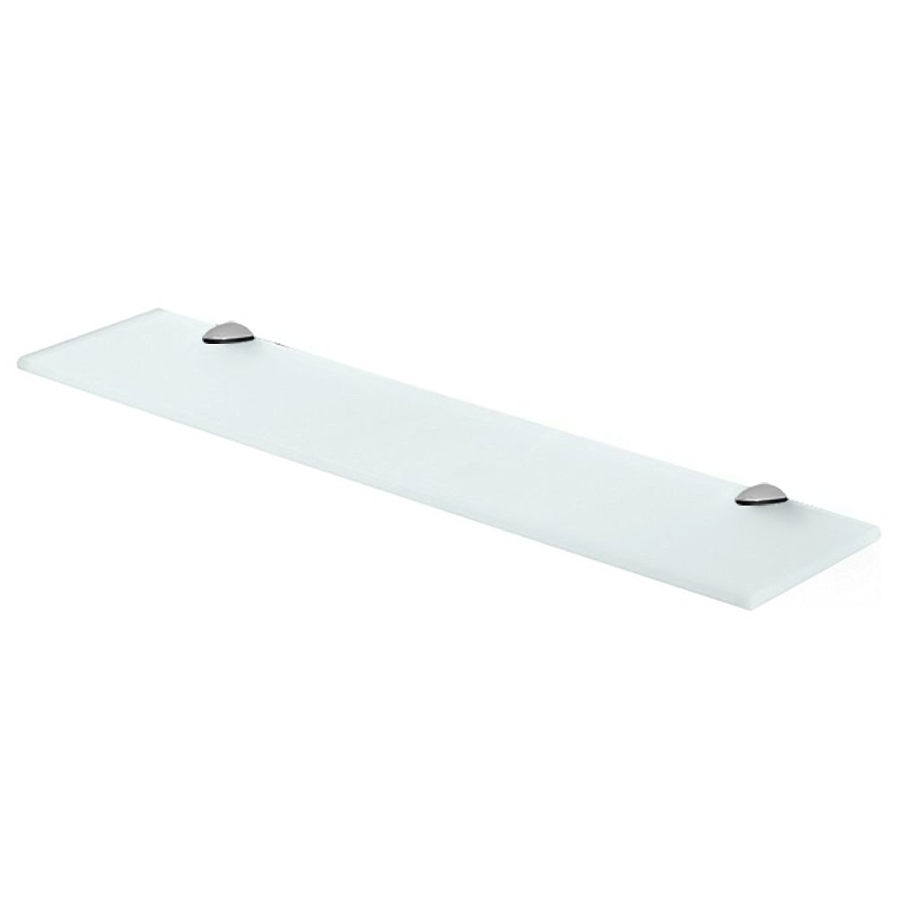 Buy Fab Glass and Mirror Rectangle Floating Glass Shelf Kit with ...