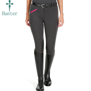 Best Quality Horse Riding Pants Micro Silicone Women Jodhpurs Breeches Full Seat Riding Tight