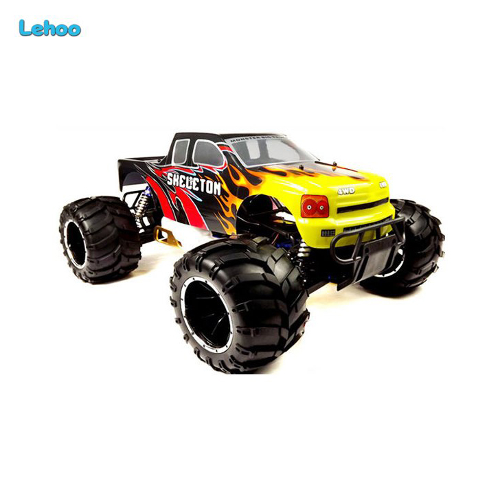 HSP 94050 2.4G 1/5 scale 4WD RC Gas Monster Truck 26CC Engine off road cars for big boy