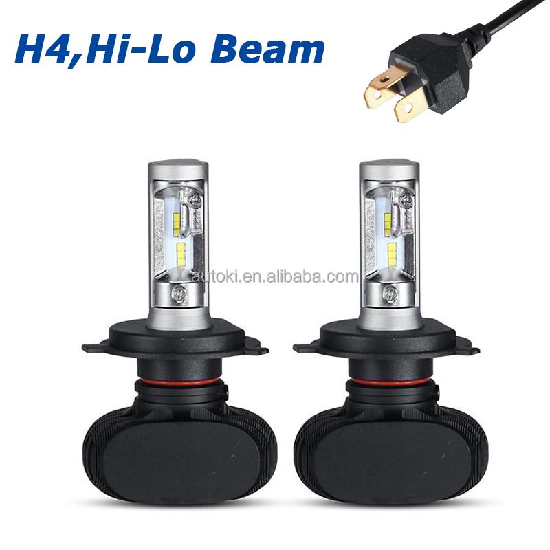 autoki h4 h13 led phare de voiture ampoule salut lo faisceau 4000lm blanc froid 6500 k csp chips. Black Bedroom Furniture Sets. Home Design Ideas